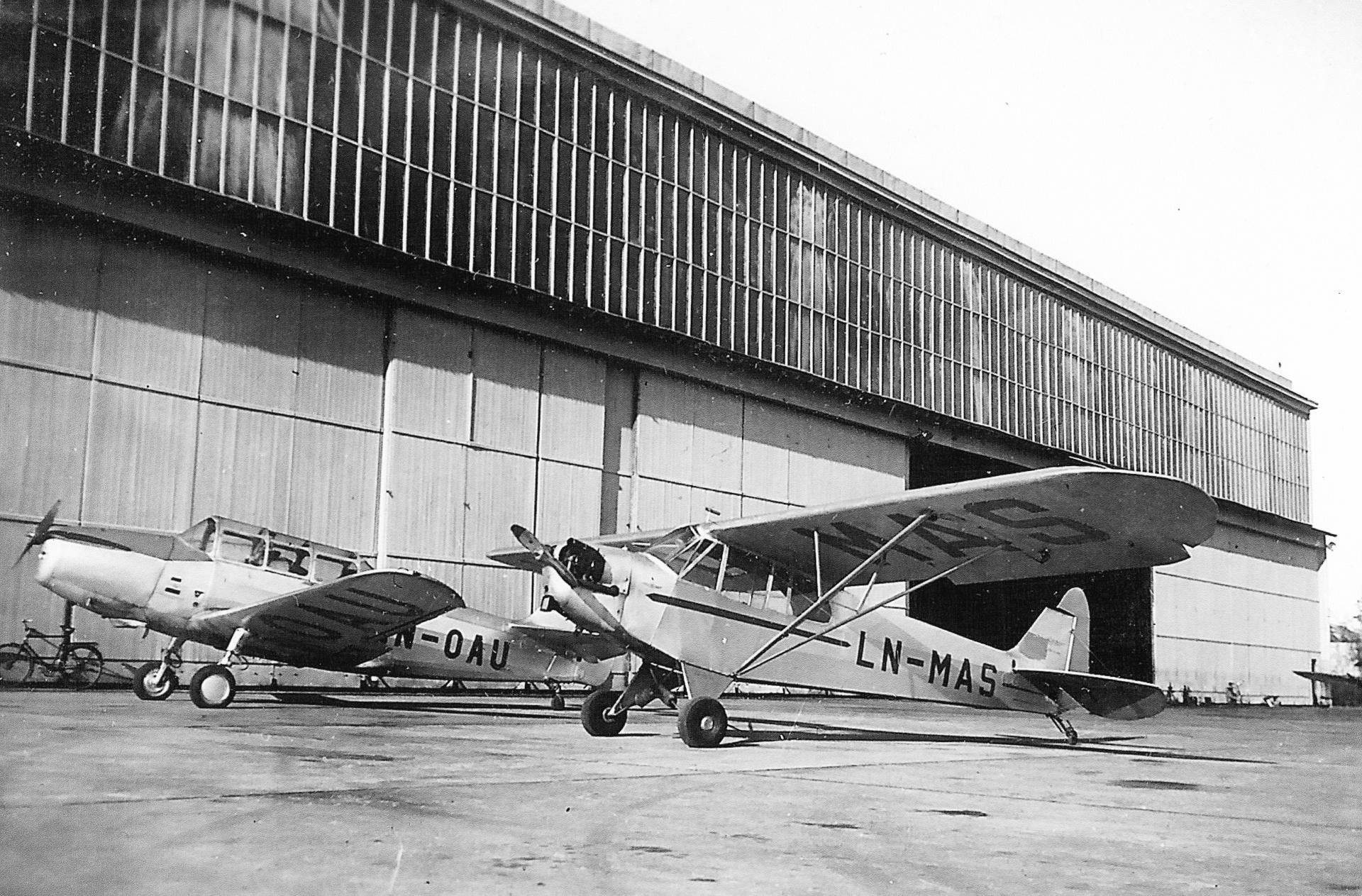 Bardufoss flyklubb LN-MAS og LN-OAU