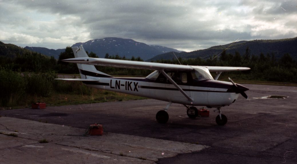 Bardufoss flyklubb LN-IKX
