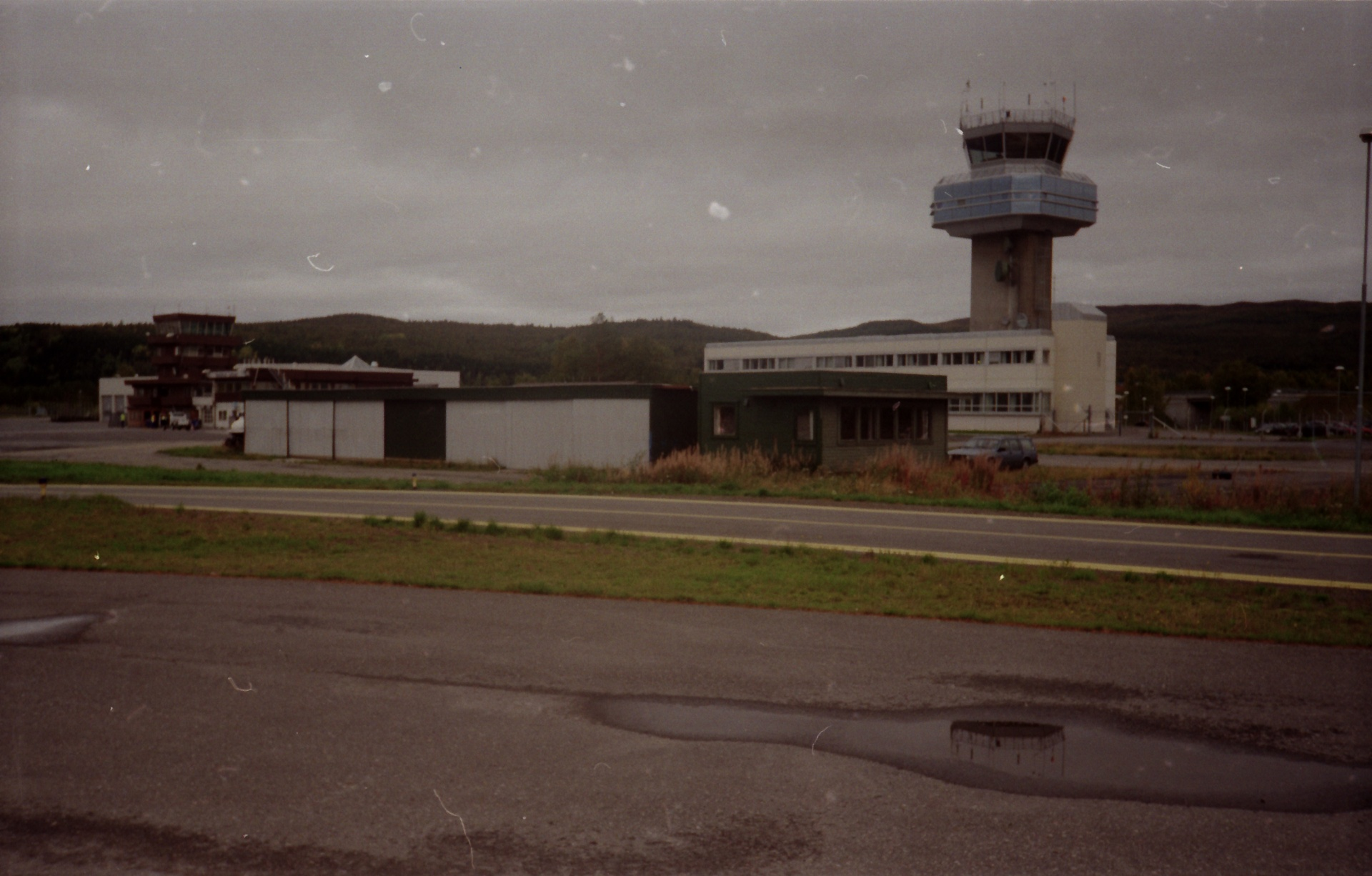Bardufoss flyklubb hangar og klubbhus