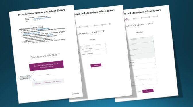 Oppdatert prosedyre for søknad om Avinor ID-kort.